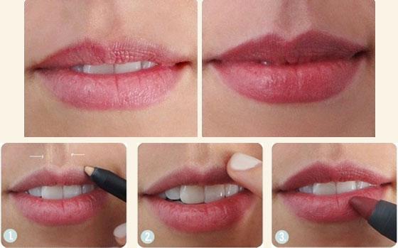 помада для увеличения губ