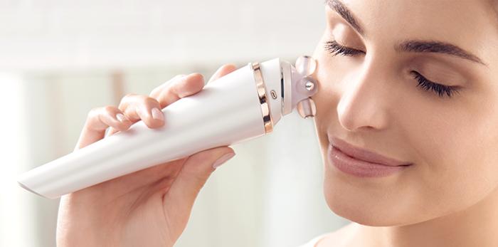 Домашние косметологические аппараты с комплексным воздействием микротоков, световых лучей и ультразвука