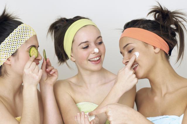 Уход за проблемной кожей лица подростка