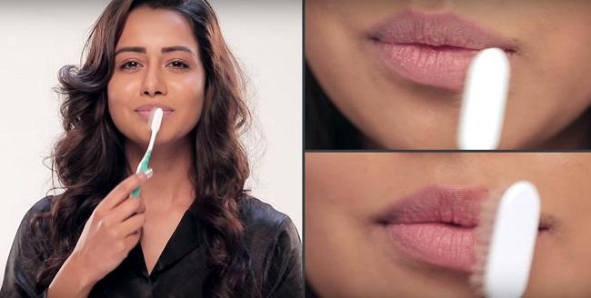 Как правильно массировать губы?