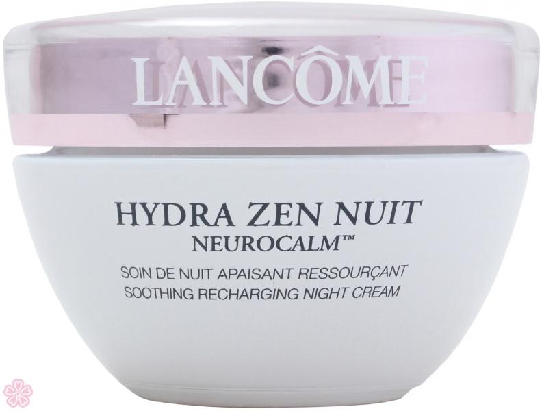 Ночной крем-антистресс Hydra Zen Neurocalm Nuit, Lancome.