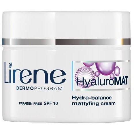 Матирующий крем гидро-баланс, HyaluroMat Cream, Lirene