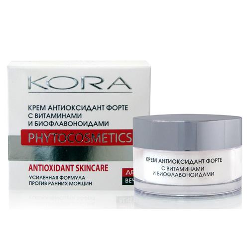 KORA крем антиоксидант форте с витаминами и биофланоидами