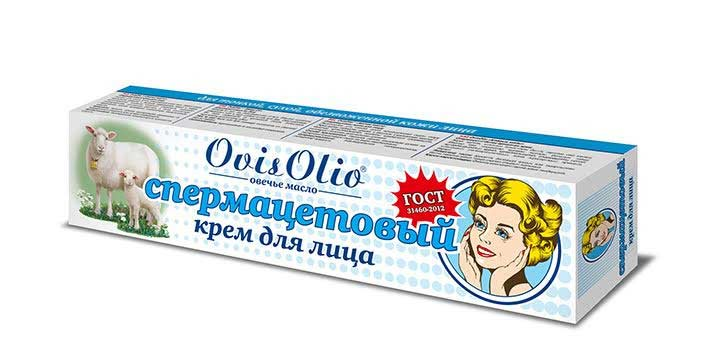 «Спермацетовый крем» для лица от Ovis Olio