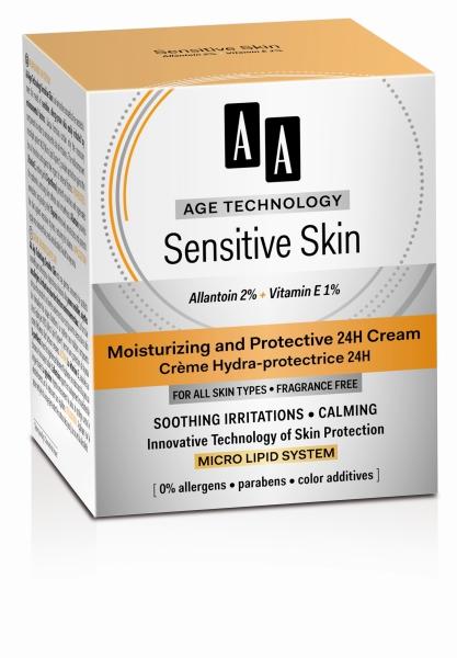Защитный крем Sensitive Skin питательный