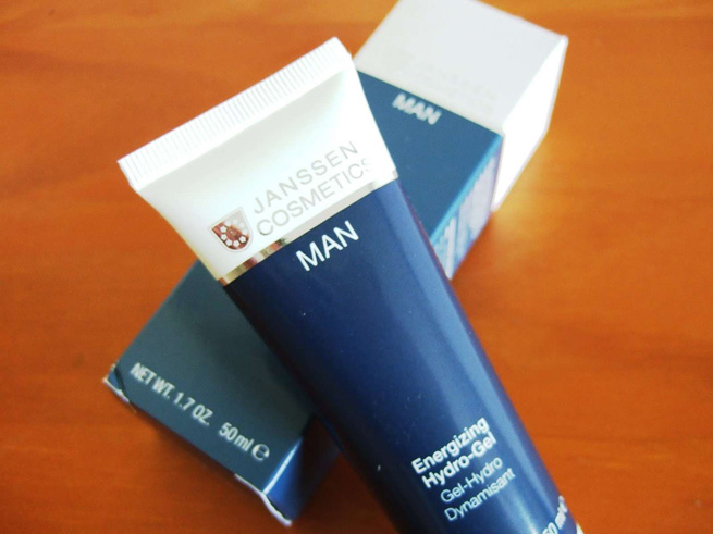 ENERGIZING HYDRO-GEL Men. От Janssen Cosmeceutical