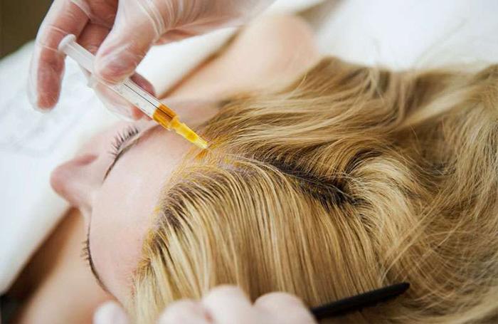 Составы препаратов для лечения волос