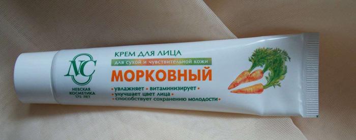 Отзывы косметологов о морковном креме для лица от «Невская косметика»