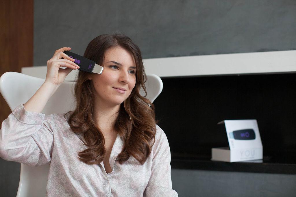 Как делать ультразвуковую чистку лица дома