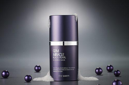 Gem Miracle Black Pearl o2 Bubble Mask – применение и отзывы