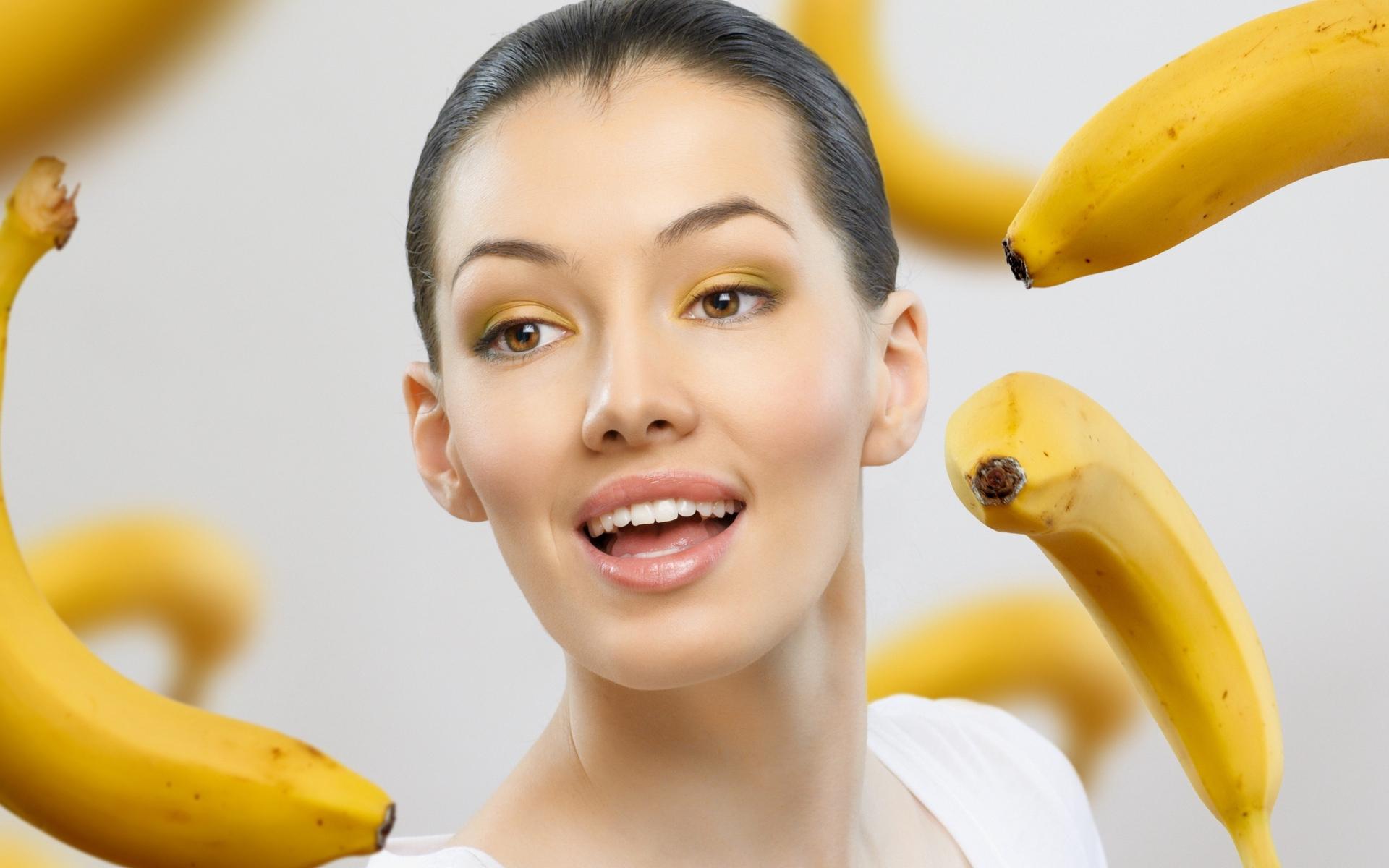 Лучше рецепты масок для лица с использованием банана