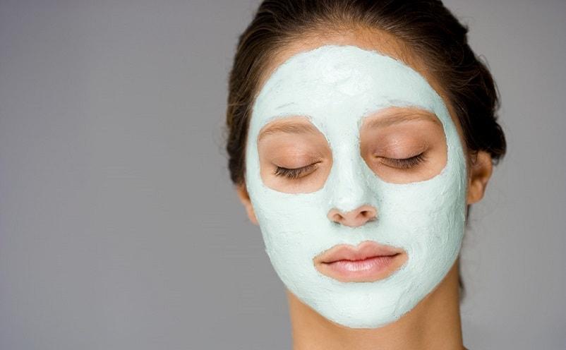 Белково-глиняная маска