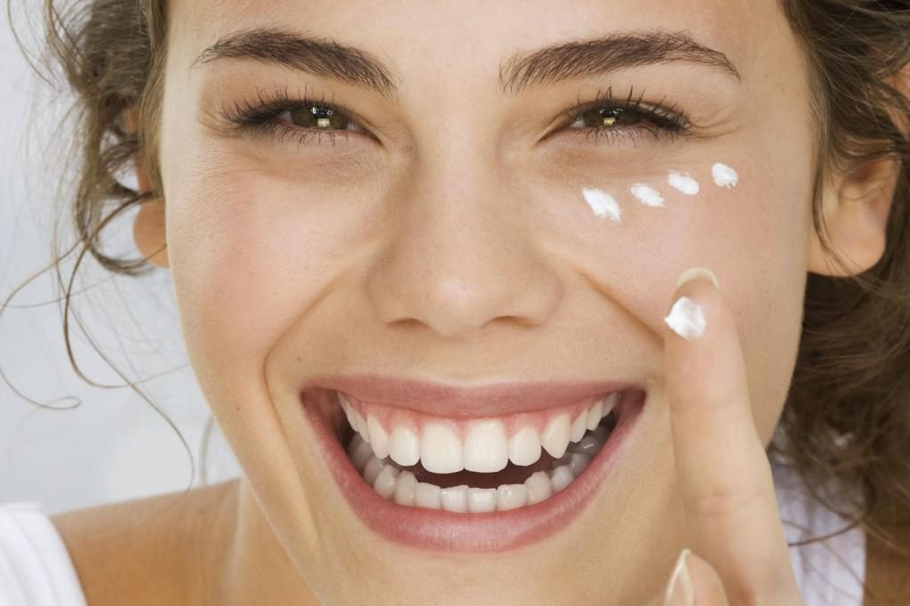 Действие крема для лица