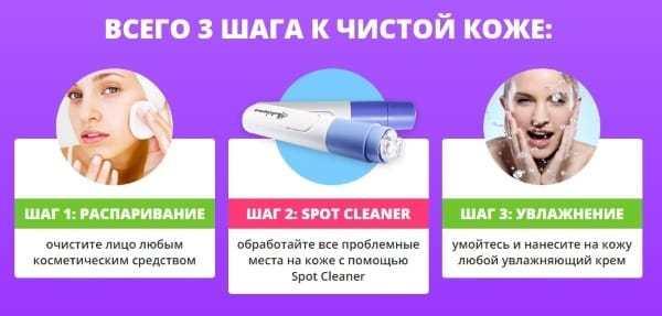 Как использовать вакуумный очиститель пор?