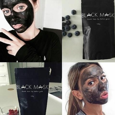 Компоненты состава чёрной маски