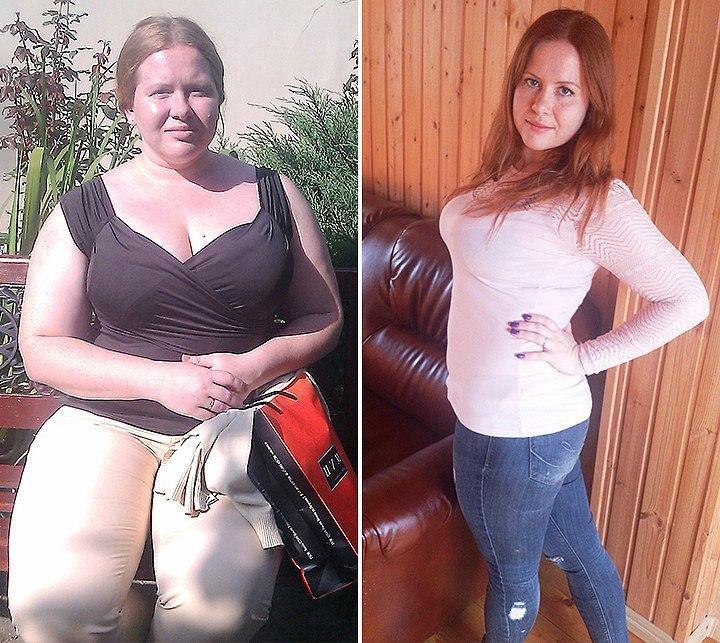 Реальные истории с похудением