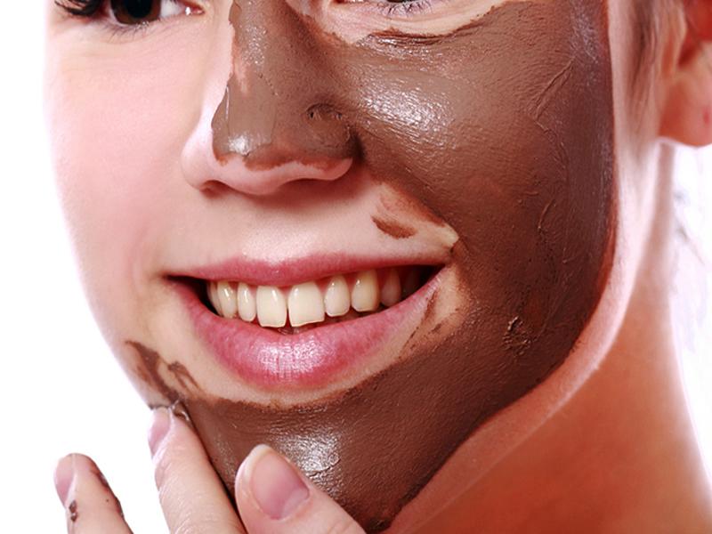 Питательная маска с какао