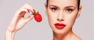 Полезные свойства клубники для лица