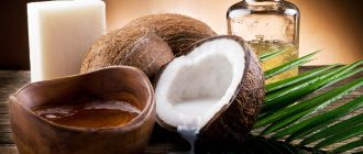 Маски из кокосового масла