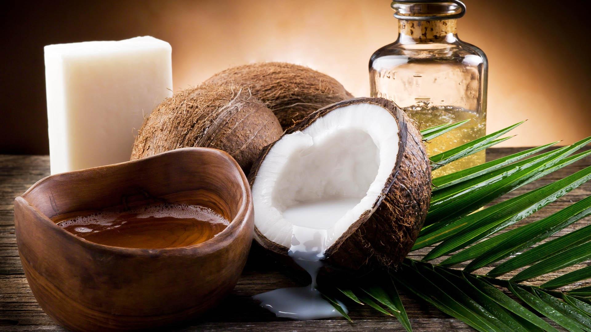 Кокосовое масло для волос картинка