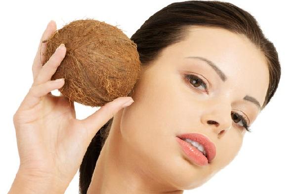 использование кокосовых масок для лица