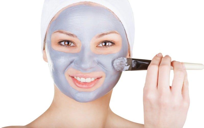 Лучшие маски для лица из голубой глины