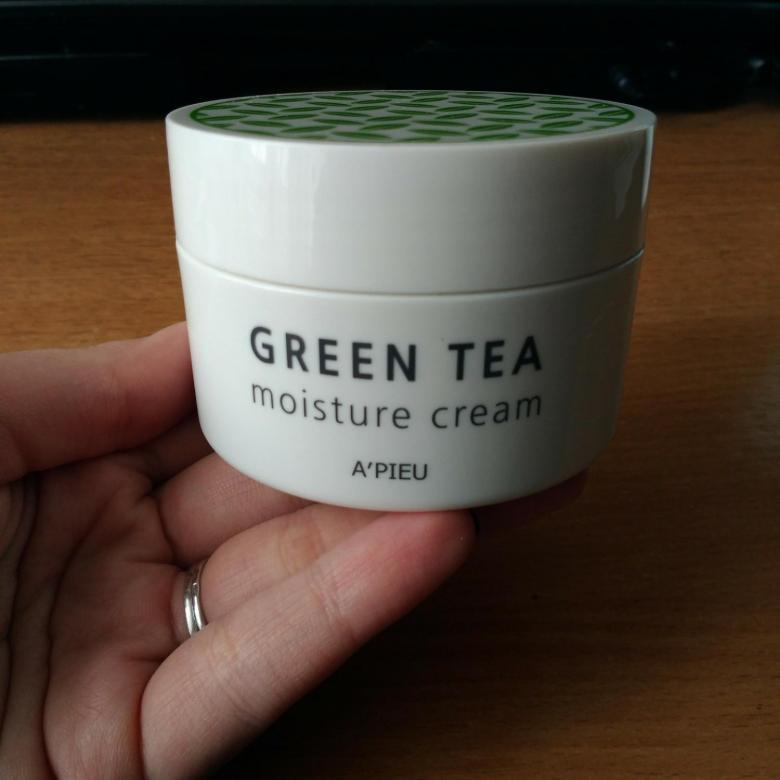 Увлажняющий крем Apieu Зелёный Чай