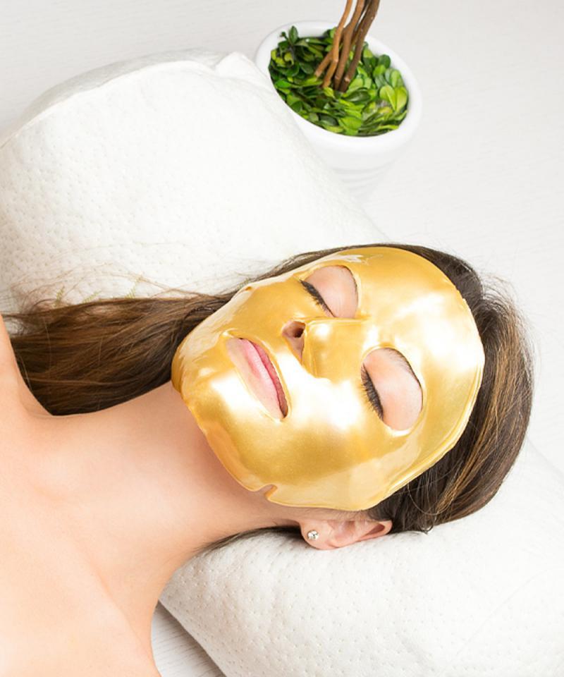 использование коллагеновых масок
