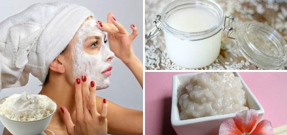 Рисовая маска для лица от морщин в домашних условиях