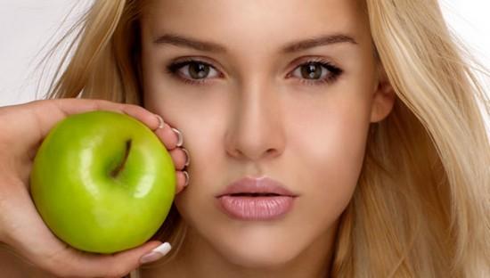 маски для лица с использованием яблок