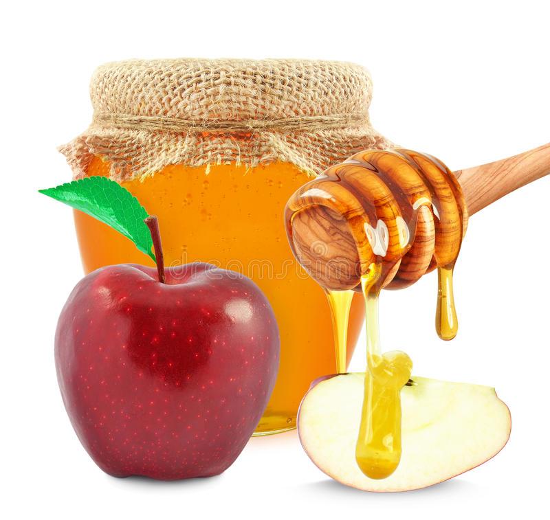 С яблоком и мёдом
