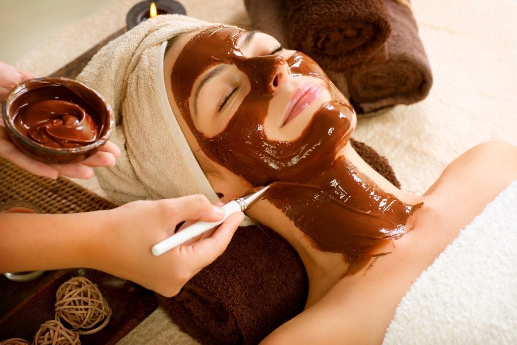 Использование шоколадных масок