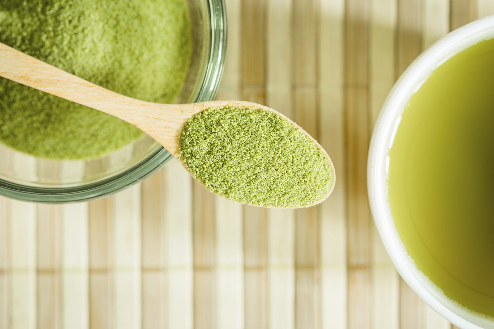 Маска с зелёным чаем