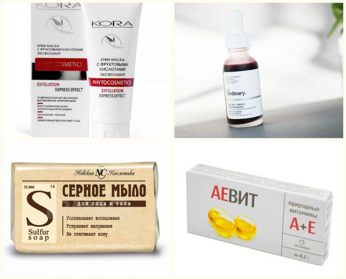 Лучшие средства против шелушения