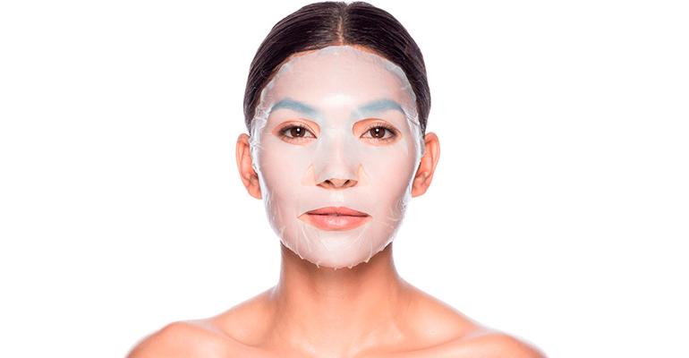 Эффект от тканей маски