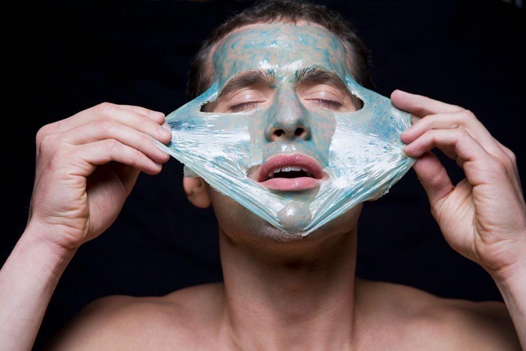 Состав мужских масок для лица