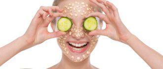 Лучшие маски для лица с овсянкой