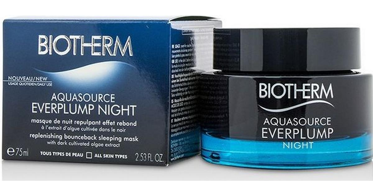 Какие эффекты даёт Biotherm Aquasource Everplump Night