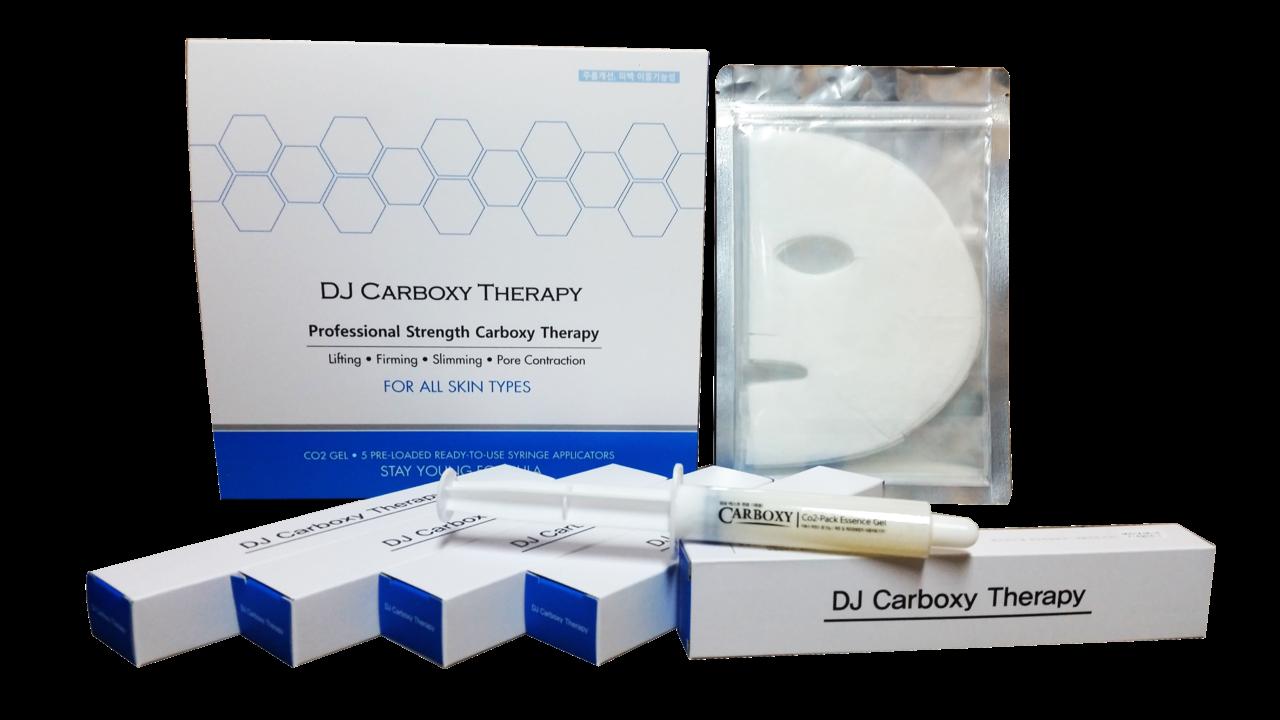 маска для лица и гель-активатор Daejong Medical DJ Carbon therapy