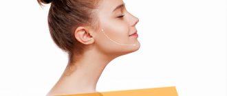 Как визуально убрать второй подбородок с помощью макияжа и стрижки