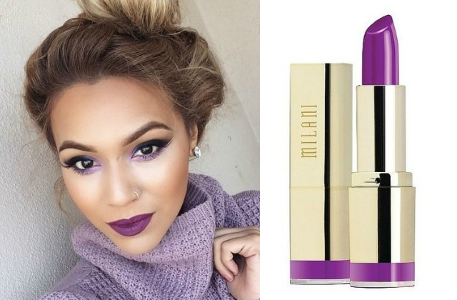Характер и фиолетовый цвет
