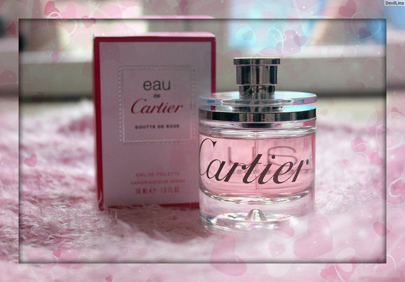 Eau De Cartier Goutte De Rose, Cartier