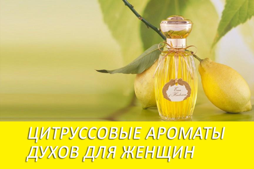 Лучшие цитрусовые ароматы духов для женщин